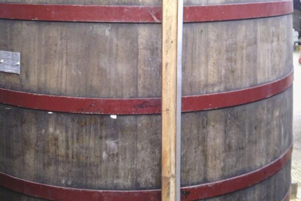 Pineau des Charentes old Vat - Before Conversion
