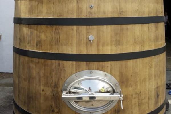 Pineau des Charentes old Vat - After Conversion