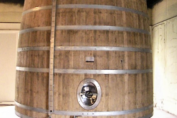 Conversion of an old Cognac Vat
