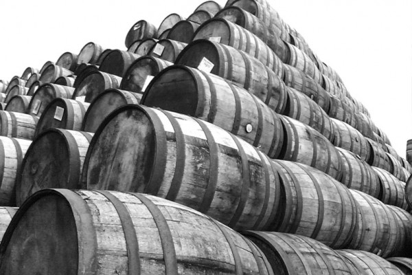 Whisky Casks in Scotland